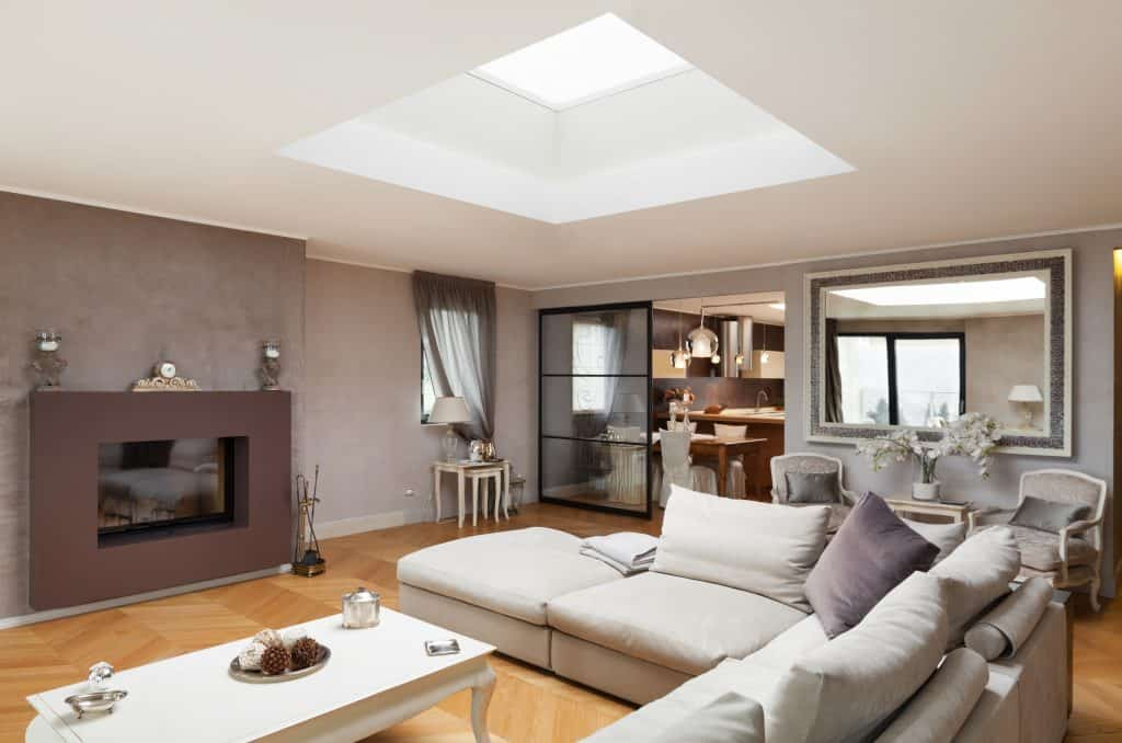 living-room-skylight